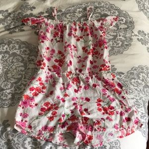 Adorable girls children's place size 7/8 romper!
